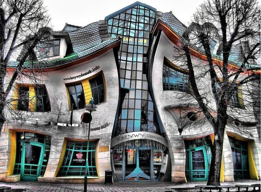 Le case pi belle del mondo sopot e la casa ubriaca for Le piu belle case del mondo foto