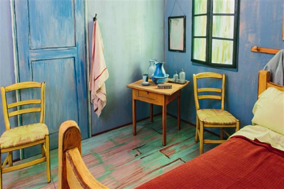 Dormire nella stanza di Van Gogh. Ora si può - TravelGlobe