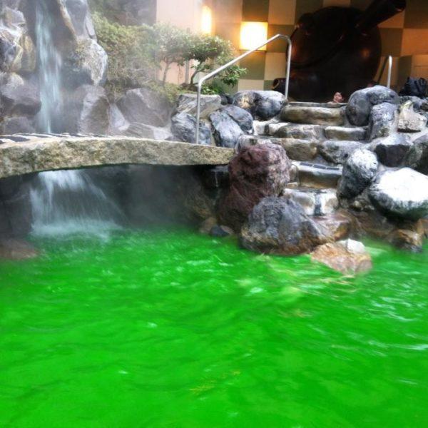 tè verde onsen