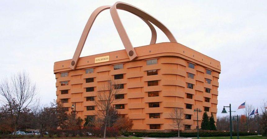 Il palazzo-cestino da picnic, ora si può comprare