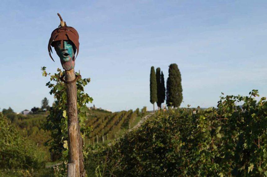 La Court: un parco artistico tra i vigneti del Monferrato