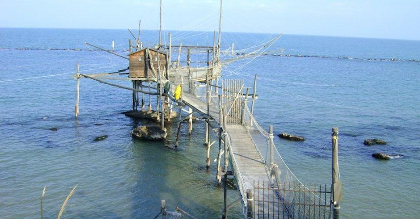 Costa dei Trabocchi: dove D'Annunzio restava in contemplazione del mare