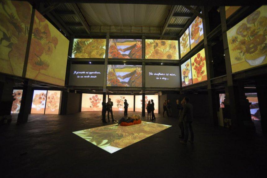 Van Gogh Alive a Roma: fantasie di luce, suggestioni di arte