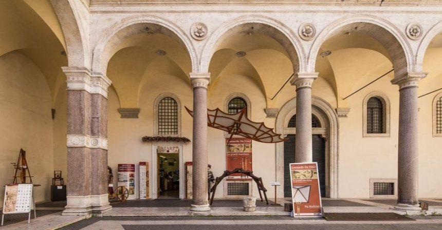 Mostra Leonardo Da Vinci. Il Genio e le invenzioni: a Roma a Palazzo della Cancelleria