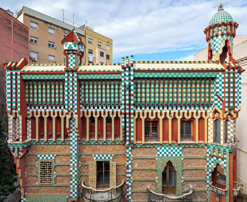 Casa Vicens, il primo progetto di Gaudì, aprirà al pubblico per la prima volta a ottobre