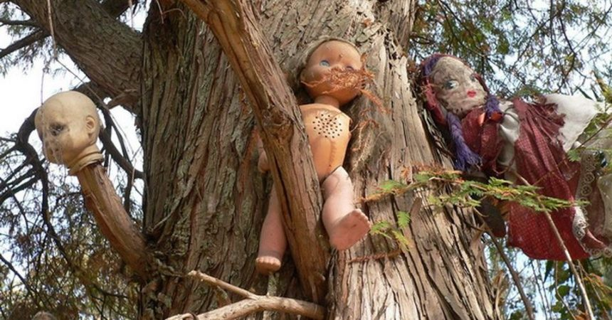 L'isola delle bambole in Messico: un progetto scaramantico da brivido