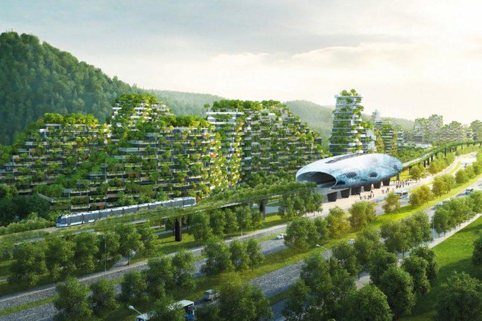 La Cina d'avanguardia e la Liuzhou Forest City, la prima città foresta