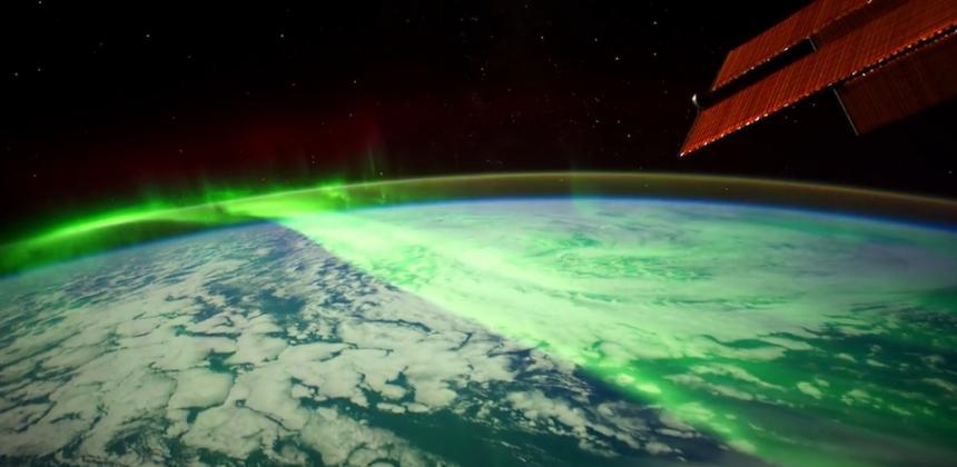 L'aurora boreale vista dallo Spazio: uno spettacolo la NASA ci regala in timelapse