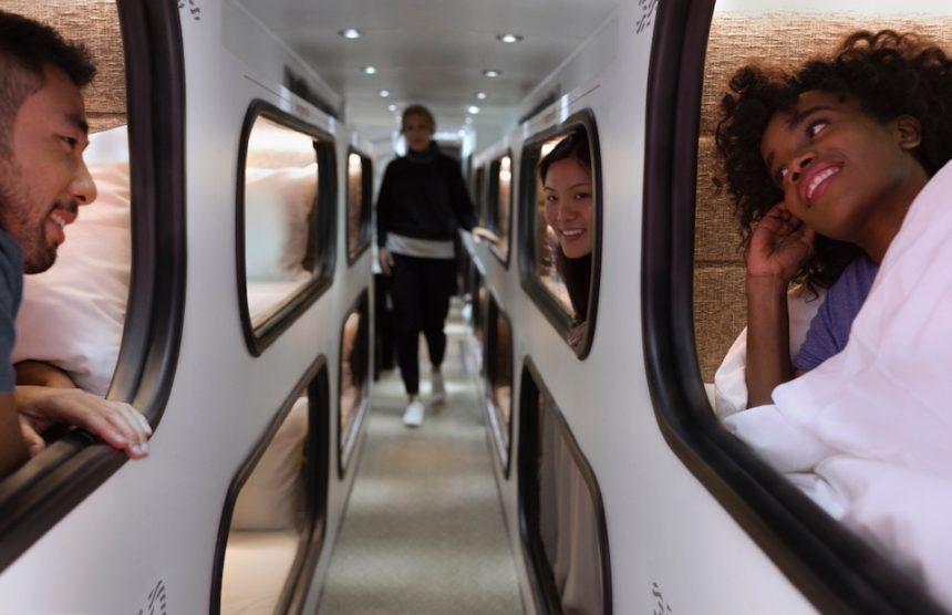 Da San Francisco a Los Angeles in bus: con Cabin dormi e arrivi riposato
