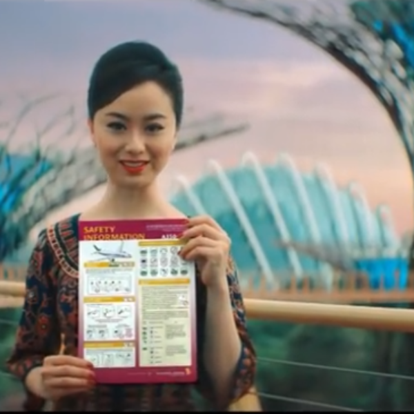 video singapore airlines