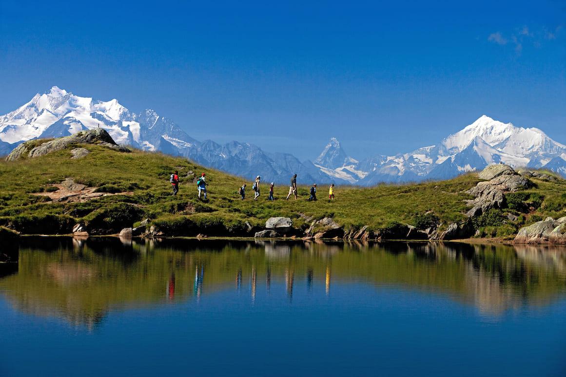 Canton Vallese escursioni - Lago Blu - Svizzera