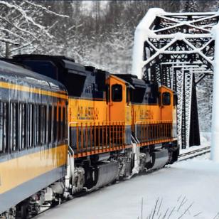 aurora train alaska