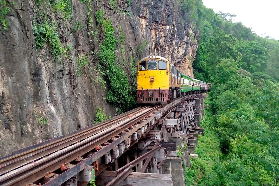 cosa vedere a kanchanaburi ferrovia della morte