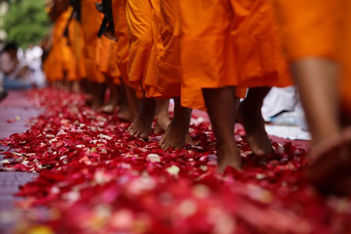 festa monaci thailandia