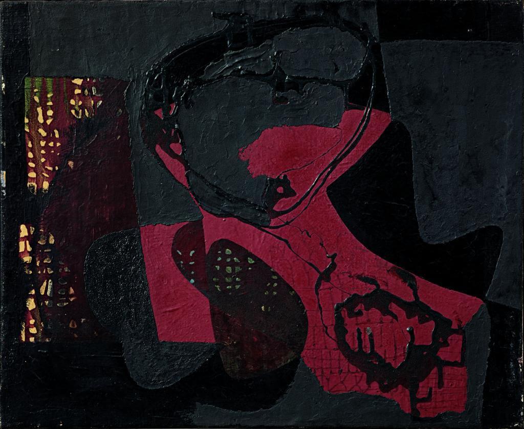 Burri_Catrame, 1950. Ph. Claudio Bruni