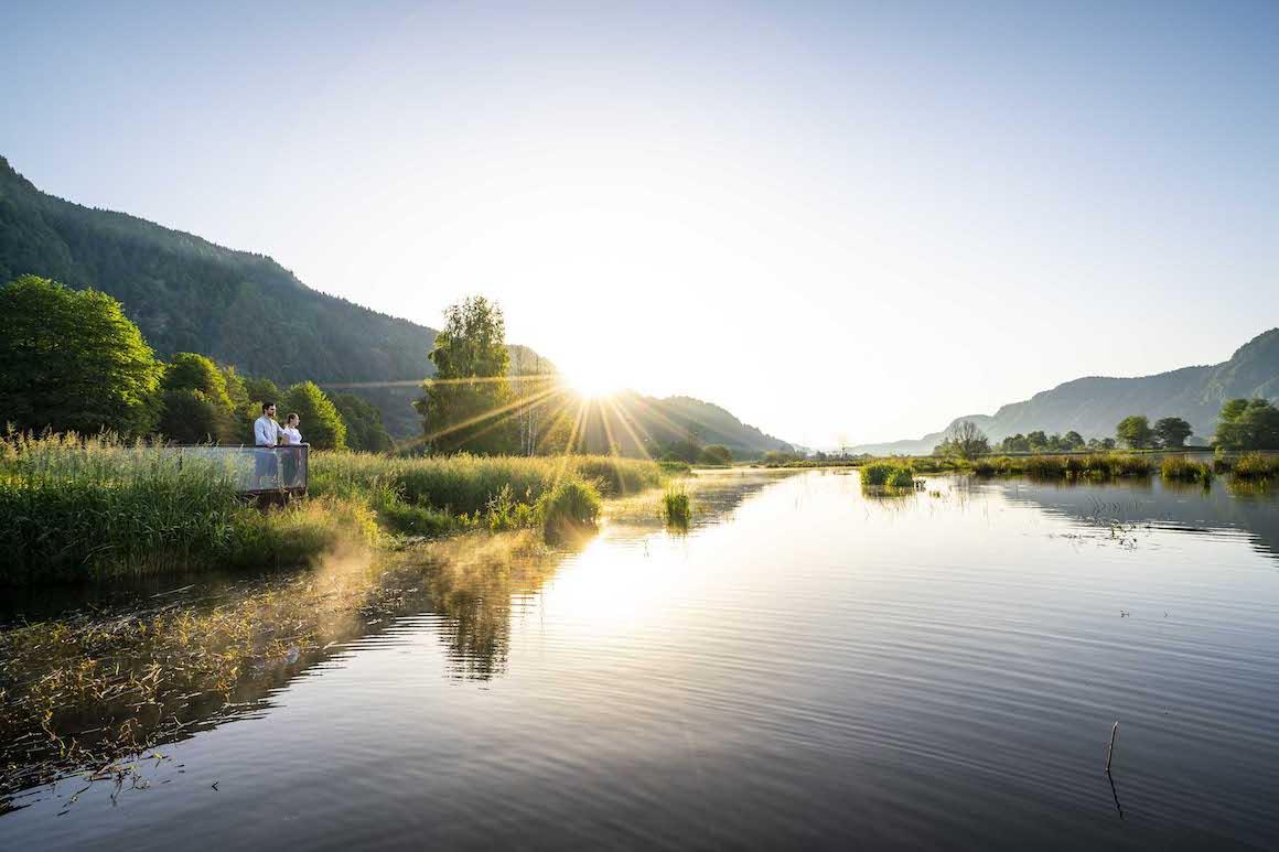 Slow Trail Bleistaettermoor Ossiacher See 15 Print ©Gert_Perauer