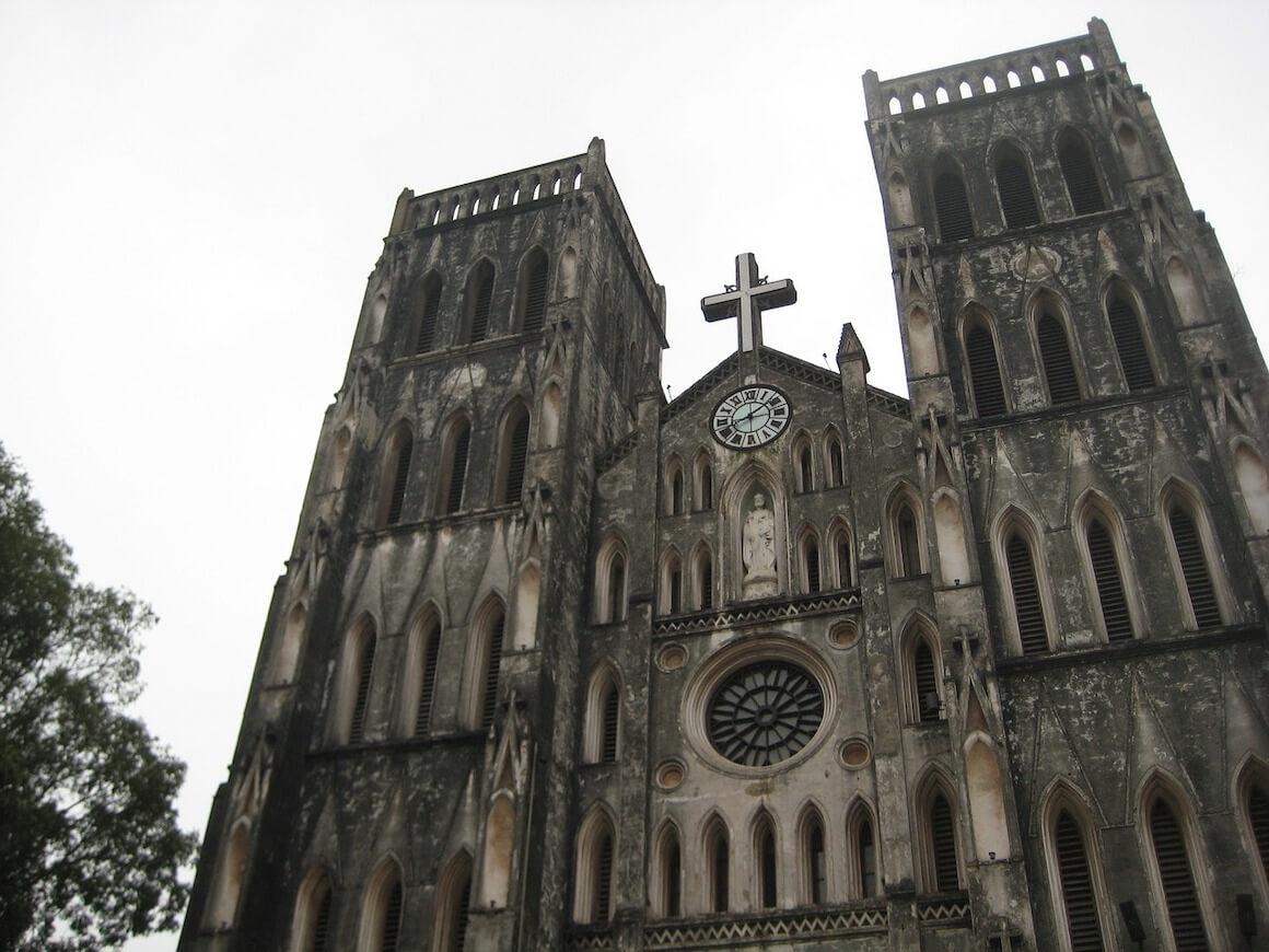 cosa fare ad hanoi: la cattedrale