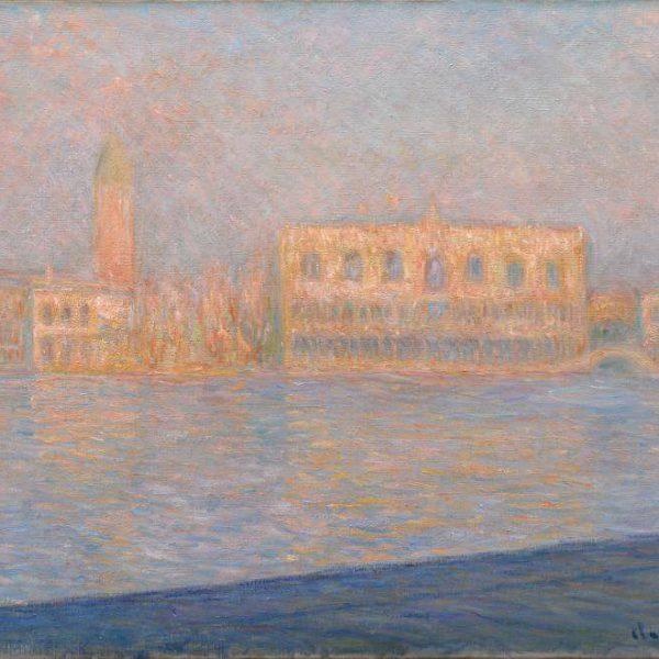10. Monet Palazzo Ducale visto da San Giorgio Maggiore