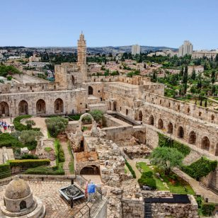 The Tower of David Museum, Jerusalem, Noam Chen