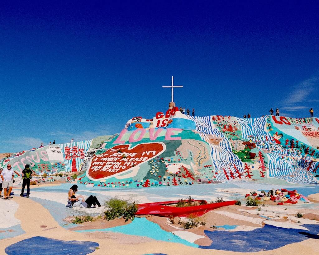 slab city mountain salvation
