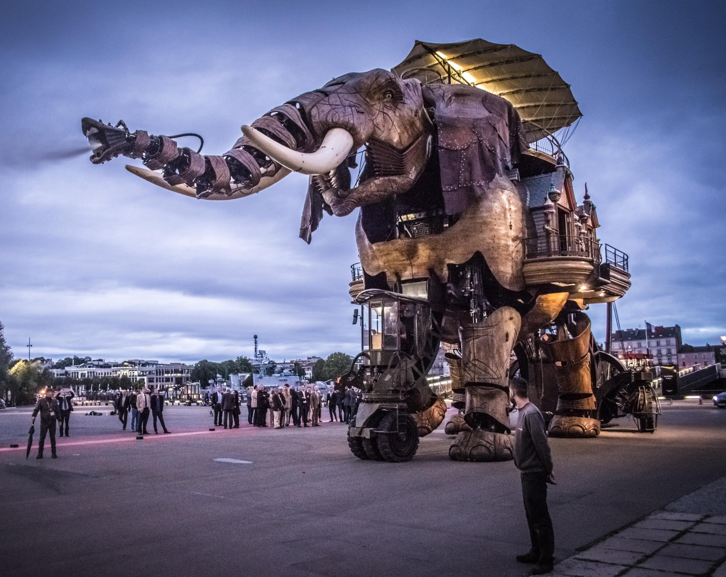 Les Machines de l'île, Nantes © Romain Peneau